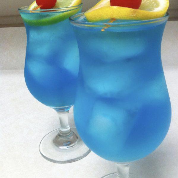 Electric Blue Iced Tea