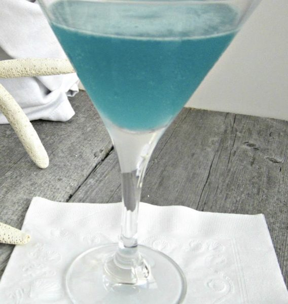 Blue Beach Martini